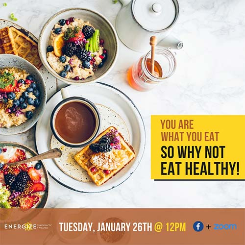 Chiropractic Kirkland WA You Are What You Eat Event