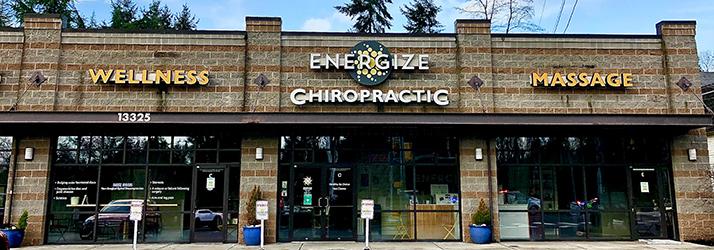 Chiropractic Kirkland CA Energize Chiropractic and Wellness Building