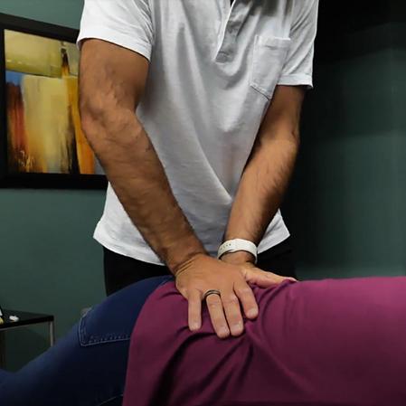 Chiropractor Kirkland CA Dr. Jeremy Meadows Back Adjustment
