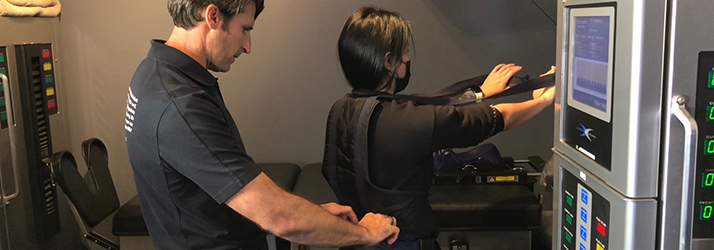 Chiropractor Kirkland CA Dr. Jeremy Meadows Spinal Decompression Tool