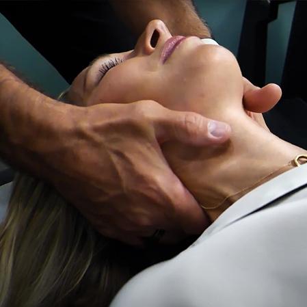 Chiropractor Kirkland CA Dr. Jeremy Meadows Neck Adjustment